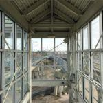 Norfolk Rail Station Elevator Tower Glass
